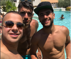 boys, sun, and fiends image