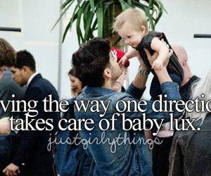 one direction, zayn malik, and baby lux image