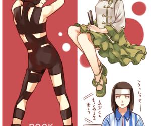 rock lee, neji hyuga, and tenten image