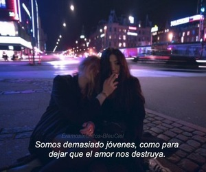 broken, couple, and frase image