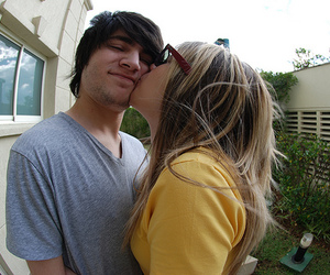 couple, cute, and photography image