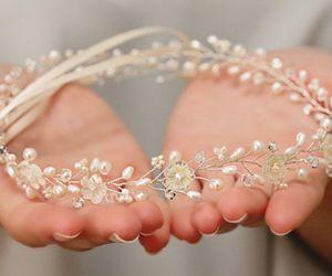 beautiful, wedding, and feminine image