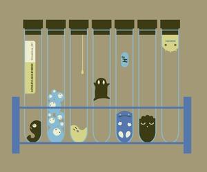 biology, chemistry, and illustration image
