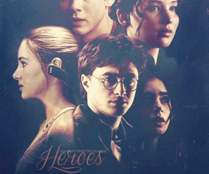 harry potter, heroes, and the hunger games image