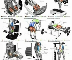 fitness, gym, and ejercicio image