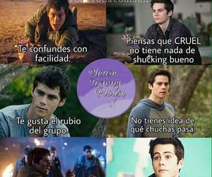 teen wolf, dylan o'brien, and maze runner image