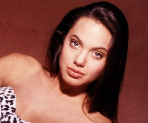 Angelina Jolie, lips, and photoshoot image