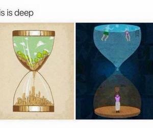 deep and sad image