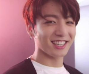 boyfriend, jungkook, and smile image