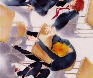 classmates, manga, and shounen ai image