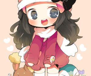pokemon, dawn, and cute image