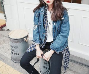 kfashion, style, and korean image