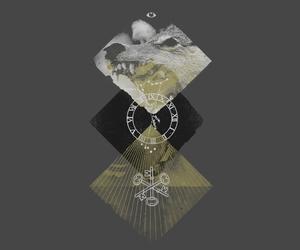 argyle, diamonds, and illustration image