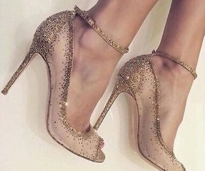 pretty, shoes, and sparkly image