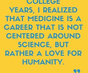 career, doctor, and humanity image
