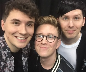 amazingphil, tyler oakley, and phil lester image