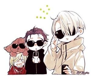 anime, yuri, and yoi image