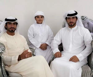 arab, beard, and boy image