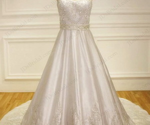 classic, bridal dress, and wedding gowns image
