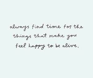 quotes, happy, and time image