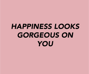 happiness, pink, and good vibes image