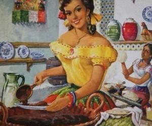 arte, cocina, and mexicana image
