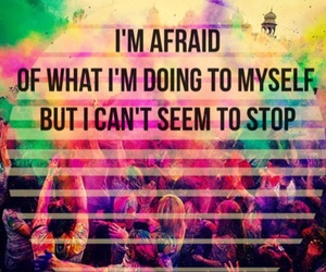 afraid, life, and me image