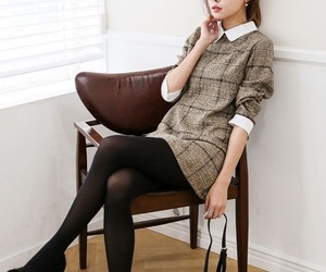 business casual, kfashion, and korean image