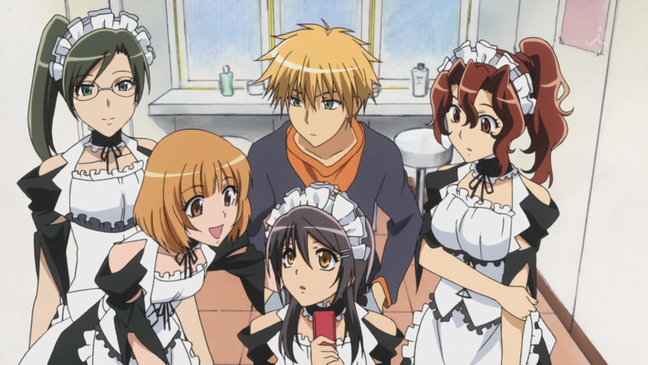 anime and kaichou wa maid-sama image