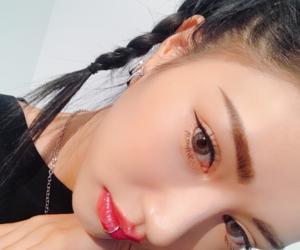 asian, braids, and lips image