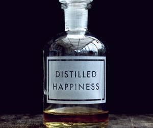 bottle, happiness, and aesthetic image