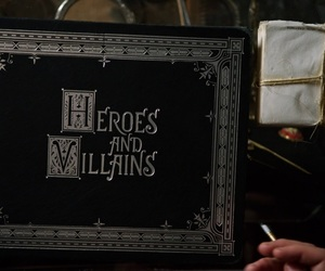 once upon a time, heroes, and villain image