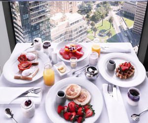 food, beauty, and breakfast image