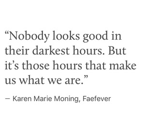 dark, Darkness, and quote image