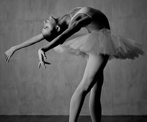 b&w, black and white photography, and tutu image