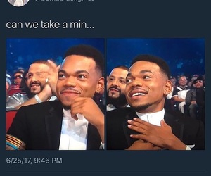 chance the rapper and cute image