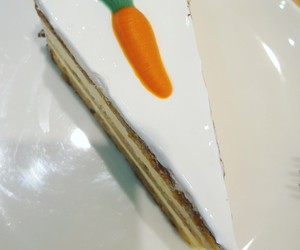 cake, carrot cake, and carrot image