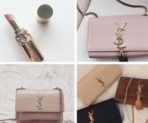 brown, Nude, and YSL image