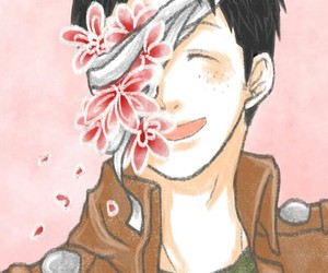 anime, flowers, and marco image
