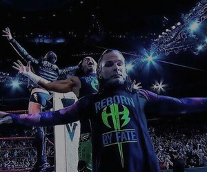 wwe, jeff hardy, and matt hardy image