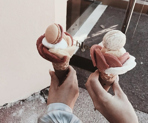 delicious, ice+cream, and dessert image