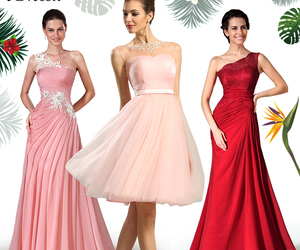 hot sale, summer dresses, and evening party dresses image