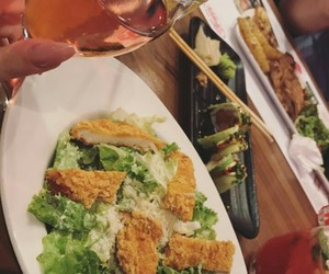 dinner, drink, and food image