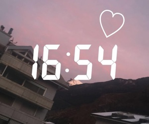 heart, morning, and mountain image