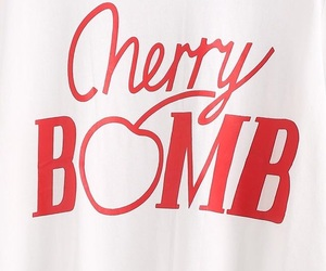 red, quotes, and cherry bomb image