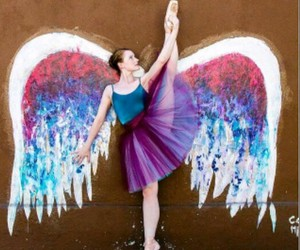 ballet, colors, and beauty image