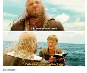 funny and pirates of the caribbean image