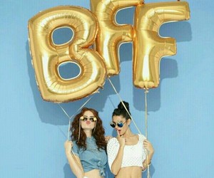 bff, girls, and forever image