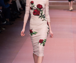 dress, fashion, and gabbana image