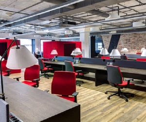 modern office furniture, office partitions, and creative room dividers image